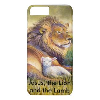 Jésus, le lion et l'agneau coque iPhone 7 plus