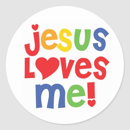 Wallpaper Jesus Love Me Bergerak : J?sus m aime ! - autocollant Zazzle.fr
