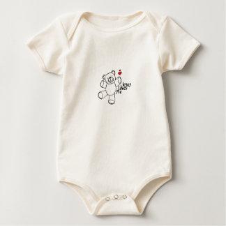 Jésus m'aime, bébé ! body
