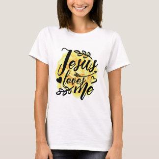 Jésus m'aime t-shirt