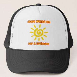 Jésus me veut pour Sunbeam Casquette