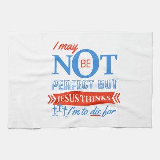 Jésus pense que je dois mourir pour serviettes éponge