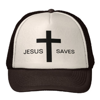 Jésus sauve le casquette