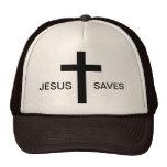 Jésus sauve le chapeau casquettes de camionneur