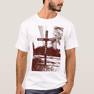 Jésus sauve Satan dépense le T-shirt par Matt