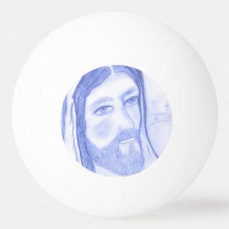 Jésus sérieux balle de ping pong