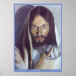 """Jésus tenant le Torah - """"réalisation"""" de la loi Posters"""