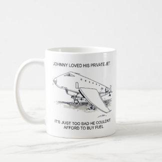 Jet privé mug