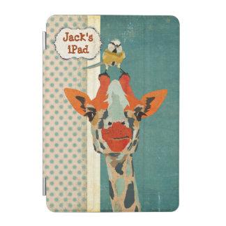 Jeter un coup d oeil la girafe et le petit coque protection iPad mini