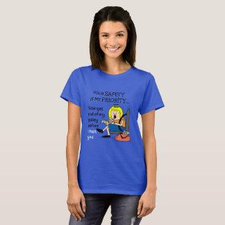 Jetlagged comique | le T-shirt de vos femmes de