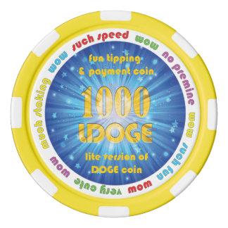 Jeton de poker de 1000 LDOGE