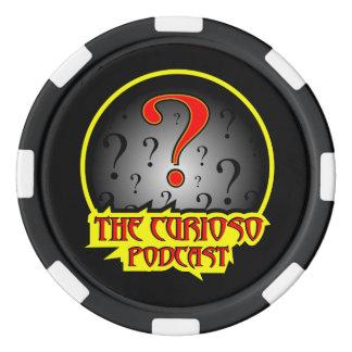Jeton de poker de Podcast de Curioso Rouleau De Jetons De Poker