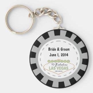 Jeton de poker Keychain de Las Vegas