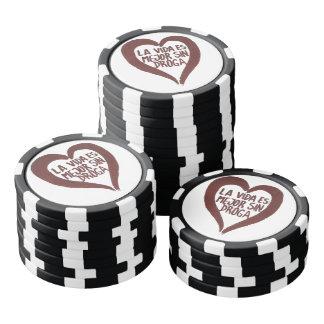 Jetons de poker Amour#1