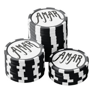 Jetons de poker Amour#2