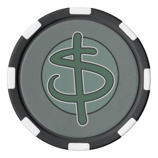 Jetons De Poker Billet d'un dollar du dollar vous