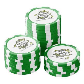 Jetons de poker d'Adam d'île