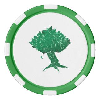Jetons de poker d'argile de DAoC Hibernia, bord