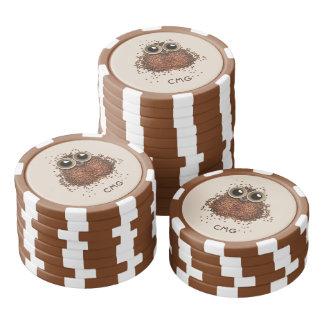 Jetons de poker faits sur commande de monogramme
