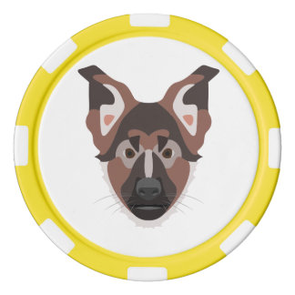 Jetons De Poker GermanShepherd01_01_B_Quadrat.ai