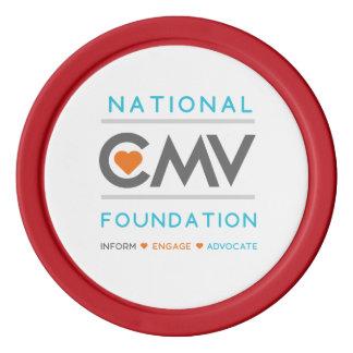 Jetons de poker nationaux de CMV