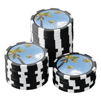 Jetons de poker Palmiers