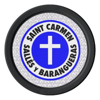 Jetons De Poker Saint Carmen Salles y Barangueras