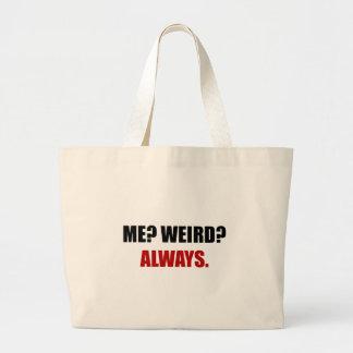 J'étrange toujours grand tote bag