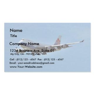 Jets d avions carte de visite