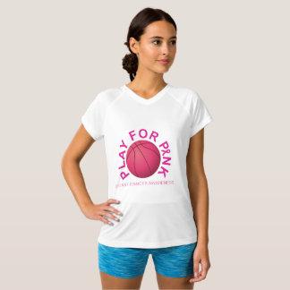 Jeu de basket-ball pour la chemise de conscience t-shirt
