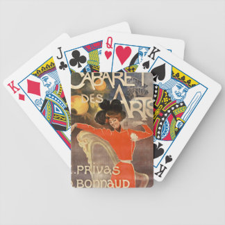 Jeu de carte cabaret des arts jeu de poker