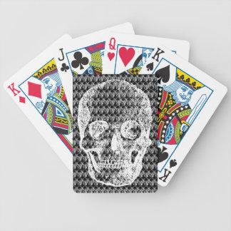 Jeu De Cartes 271 cartes de jeu de crânes