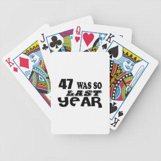 Jeu De Cartes 47 étaient ainsi ainsi l'année dernière les