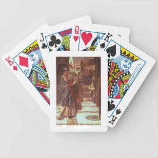 Jeu De Cartes Alma-Tadema | le départ, 1880