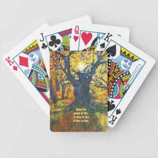 Jeu De Cartes Appréciez - les cartes de partie de nature
