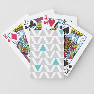 Jeu De Cartes Aqua graphique et cartes de jeu grises