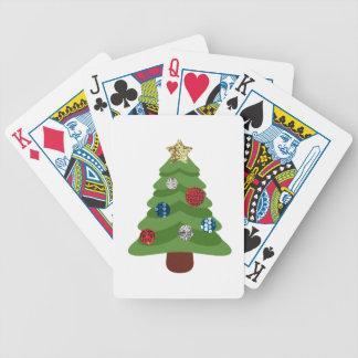 Jeu De Cartes arbre de Noël d'emoji