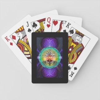 Jeu De Cartes Arbre des cartes de jeu de la vie