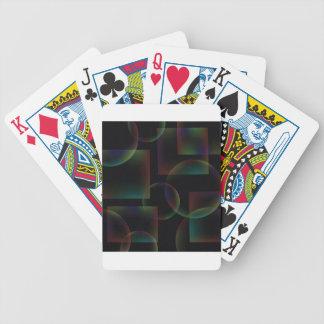Jeu De Cartes Arrière - plan abstrait noir