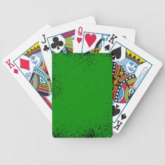 Jeu De Cartes Arrière - plan grunge vert