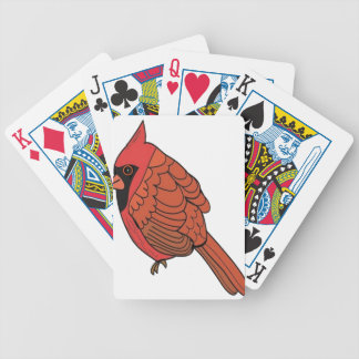 Jeu De Cartes Art cardinal d'oiseau