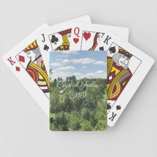 Jeu De Cartes Automnes en cristal, cartes de jeu de MI