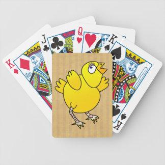 Jeu De Cartes Bande dessinée d'amusement de poulet de bébé