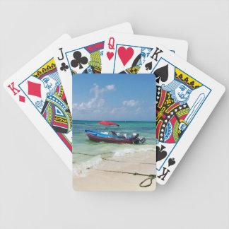 Jeu De Cartes Bateau sur le Playa del Carmen