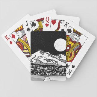 Jeu De Cartes Bâti Shasta noir et blanc