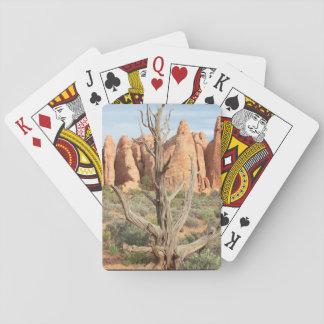 Jeu De Cartes Bel arbre près des voûtes, cartes de jeu de l'Utah