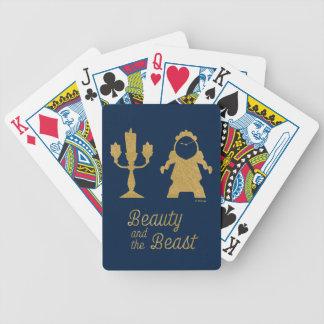 Jeu De Cartes Belle | Lumiere et Cogsworth