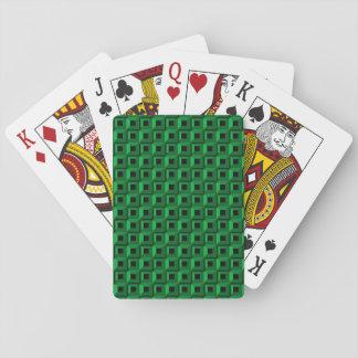 Jeu De Cartes Bernaches dans des cartes de jeu de Teal