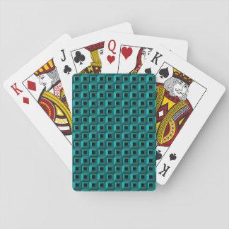 Jeu De Cartes Bernaches dans des cartes de jeu de turquoise