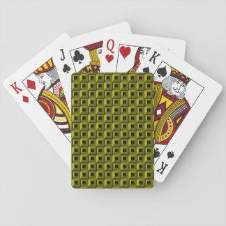 Jeu De Cartes Bernaches dans les cartes de jeu jaunes